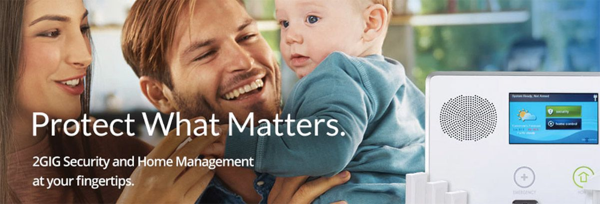 Protect What Matters - 2GIG Security and Home Management at your fingertips