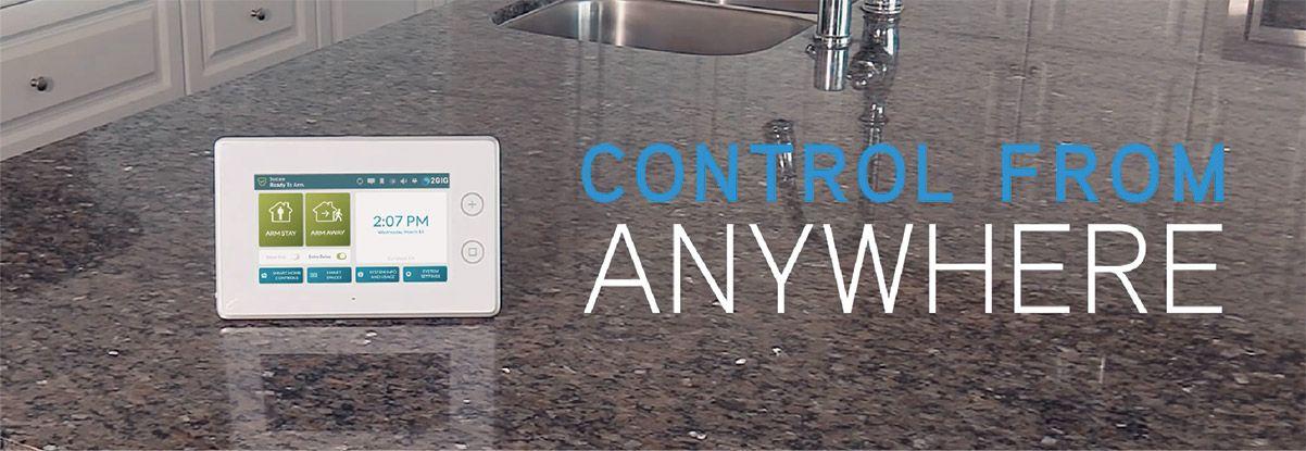 Burglar Alarms - Control from Anywhere